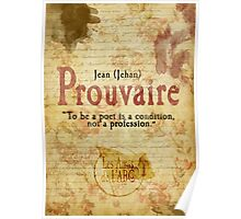 Prouvaire  Poster