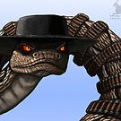 One badass snake  by Kimberly mattia