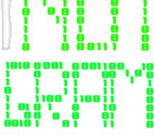 I'm not a programmer Sticker