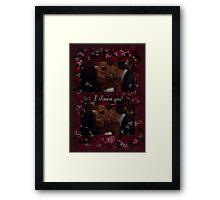Olitz - I Choose You Framed Print