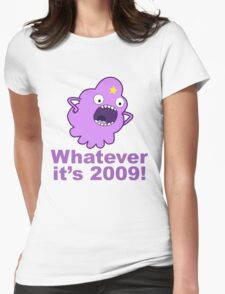lumpy space princess 2009 Womens Fitted T-Shirt