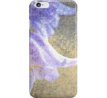 Vintage bluebells iPhone Case/Skin