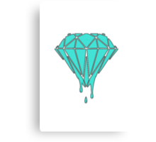 Drippin' Diamond Canvas Print