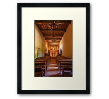 Mission San Juan Capistrano Chapel Vertical Framed Print