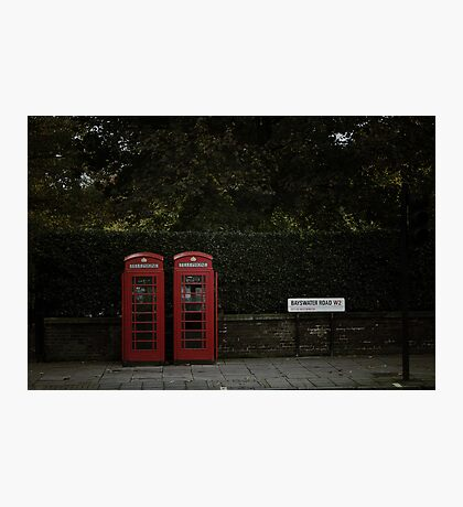 Call from London Photographic Print
