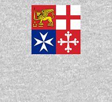 Naval Jack of Italian Navy  Unisex T-Shirt