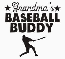 Grandma's Baseball Buddy One Piece - Short Sleeve