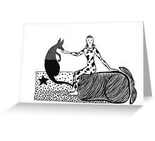 Sniff Greeting Card