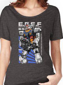 Gundam RX 78 Women's Relaxed Fit T-Shirt