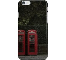 Call from London iPhone Case/Skin