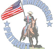 American Patriot Horseman  by saltypro