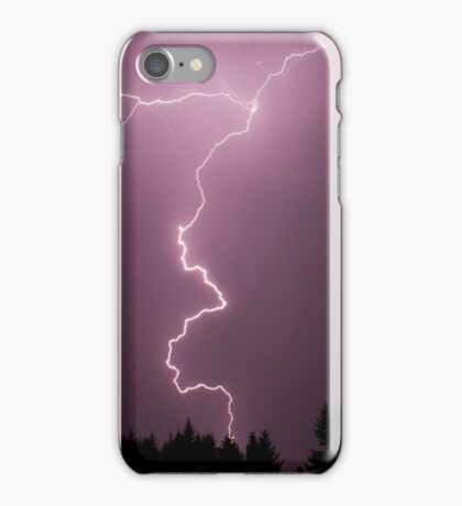 Flashes in the Sky iPhone Case/Skin
