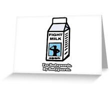 Fight Milk - Always Sunny In Philadelphia Greeting Card