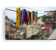 The Colorful Chore Canvas Print