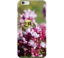 Bees and their Flowers iPhone Case/Skin