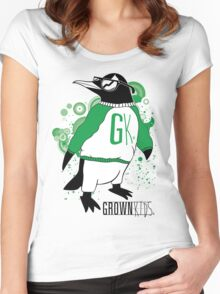 One Cool Penguin Women's Fitted Scoop T-Shirt