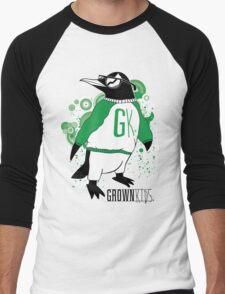One Cool Penguin Men's Baseball ¾ T-Shirt