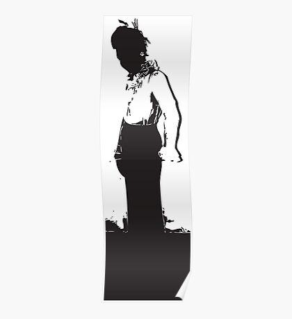 Woman Silhoutte Poster