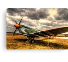 The Spitfire - Historic Warplane Canvas Print