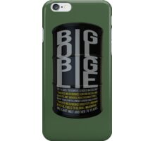 Big Oil Big Lie - Lies about Lead took 75 years to resolve! iPhone Case/Skin