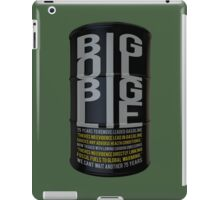 Big Oil Big Lie - Lies about Lead took 75 years to resolve! iPad Case/Skin