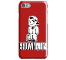 Grown Kids iPhone Case/Skin