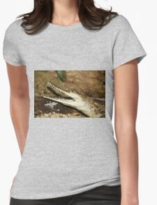 Baby Croc Womens Fitted T-Shirt
