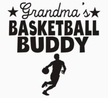 Grandma's Basketball Buddy Kids Tee
