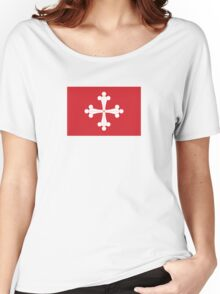 Flag of Republic of Pisa  Women's Relaxed Fit T-Shirt