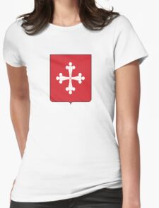 Shield of Republic of Pisa Womens Fitted T-Shirt