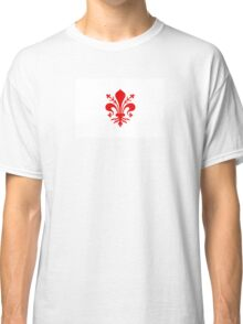 Flag of Republic of Florence, 1115-1532 Classic T-Shirt