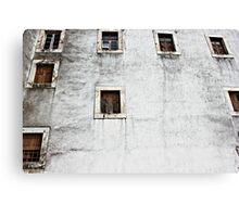 Wall of the Pousada Rainha Santa Isabel  Canvas Print