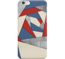 Abstract America Collage iPhone Case/Skin