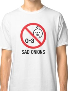 Ashens - 0-3 Sad Onions Classic T-Shirt