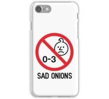 Ashens - 0-3 Sad Onions iPhone Case/Skin