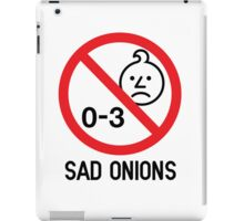 Ashens - 0-3 Sad Onions iPad Case/Skin