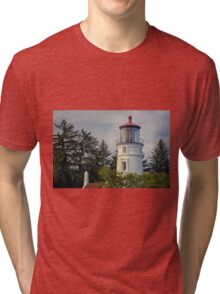 Umpqua River Lighthouse Tri-blend T-Shirt