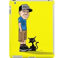 J's and a One eyed kitty iPad Case/Skin