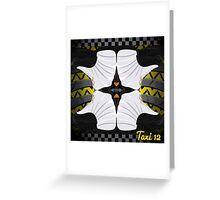 """Jordan """"Taxi"""" 12s Greeting Card"""
