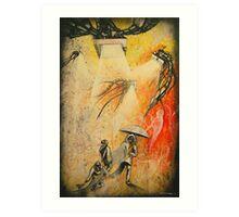 See Hear Speak no Evil Painting by Artist Ekaterina Chernova Art Print