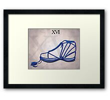 Jordan XVI Framed Print