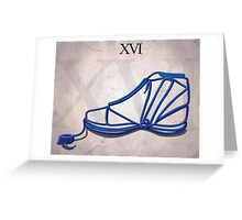 Jordan XVI Greeting Card