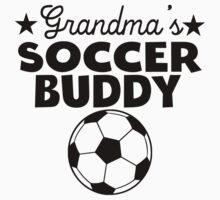 Grandma's Soccer Buddy Kids Tee