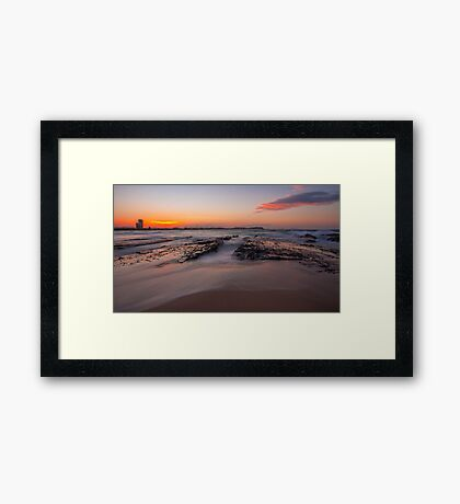 Currumbin Rocks, Gold Coast Framed Print