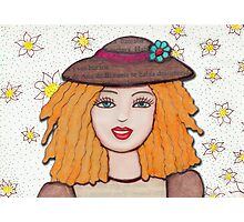 Gloria Doll, Lovely blonde doll  Photographic Print