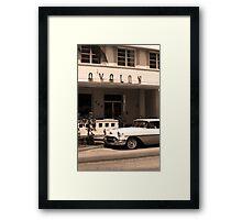 Miami Beach - Art Deco Framed Print