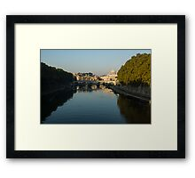 Good Morning, Rome! Framed Print