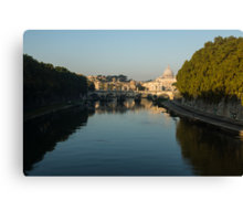 Good Morning, Rome! Canvas Print