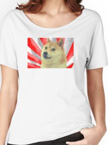 Doge Japanese  Women's Relaxed Fit T-Shirt