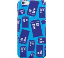 Where's the Tardis? iPhone Case/Skin